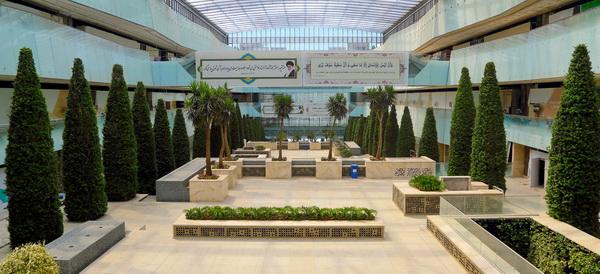 باغ ماهان، باغ ایرانی مجموعه ایران مال